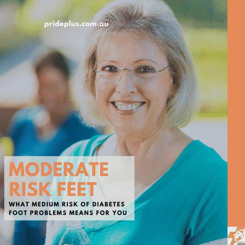 moderate risk of diabetes foot problems advice from podiatrist