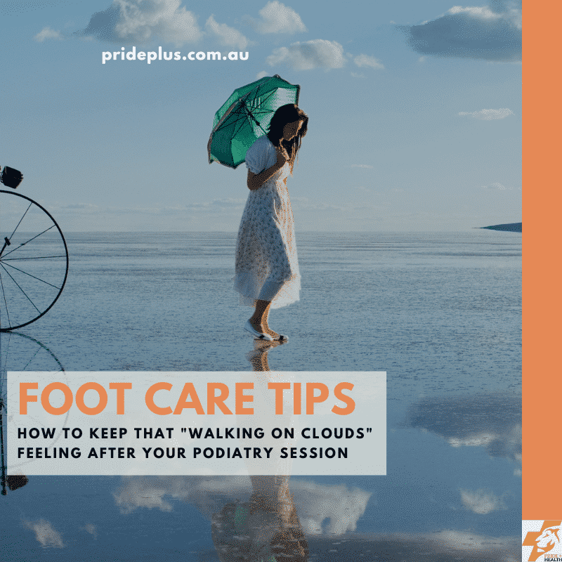 foot care tips for healthy feet from podiatrist in melbourne
