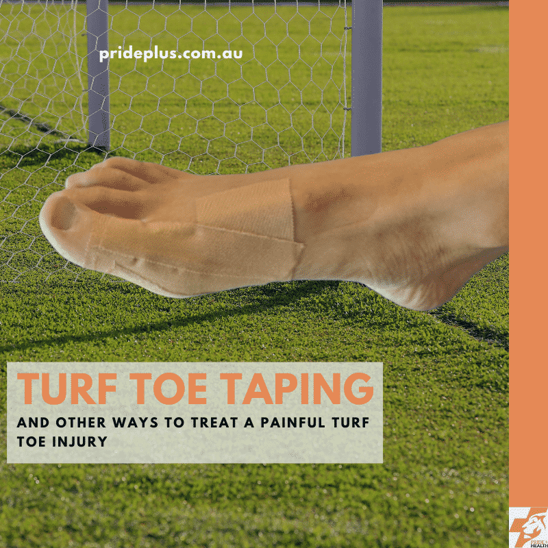 turf toe taping and other painful big toe joint treatment options